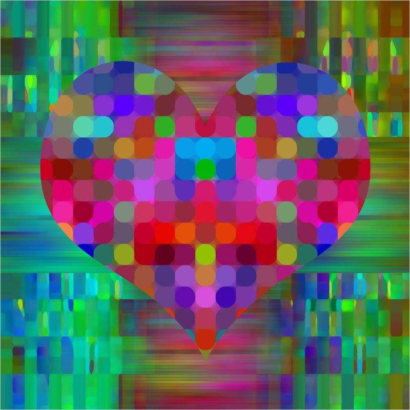 coeur pixel isabelle