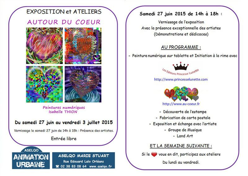 Invitation expo coeur aselqo