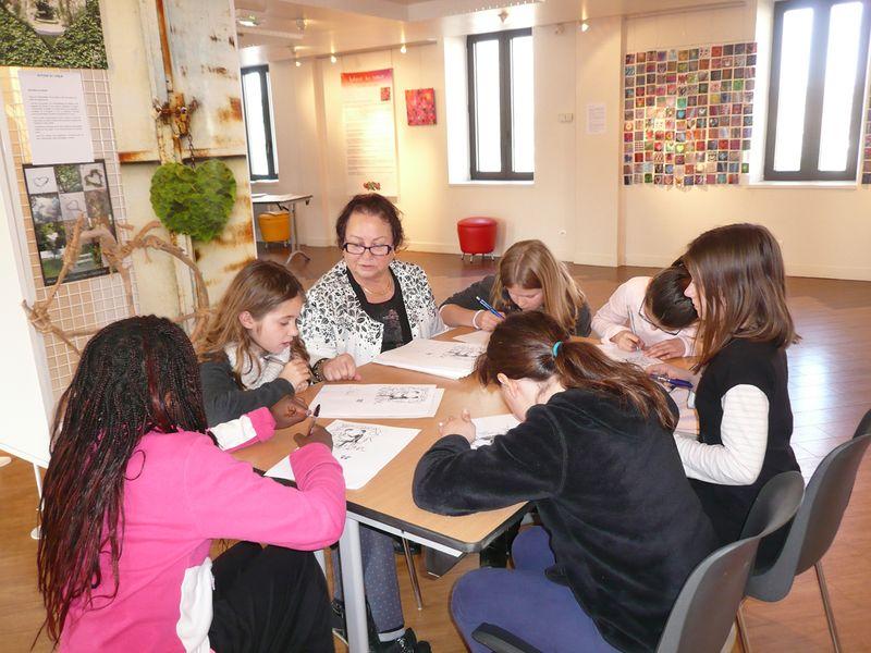 Atelier poésie Anne-Marie Avallone